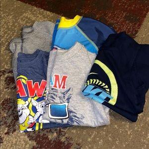 Bundle of (5) size 4T shirts
